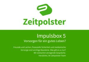 Titelblatt Impulsbox 5